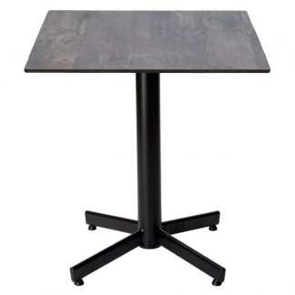 Restaurangbord Stable Table med OnTop Tarred Wood