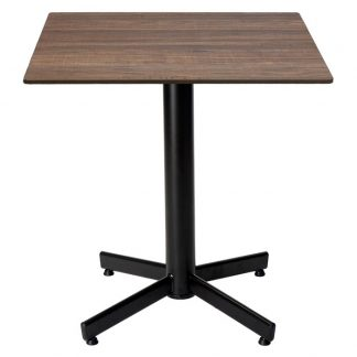 Restaurangbord Stable Table med OnTop Brown Wood