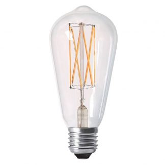 Elect LED Filament Edison 64mm klar E27