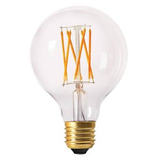 Elect LED Filament Glob 80mm. Klar E27