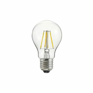 LED dimbar klar E27 4W Ø60mm